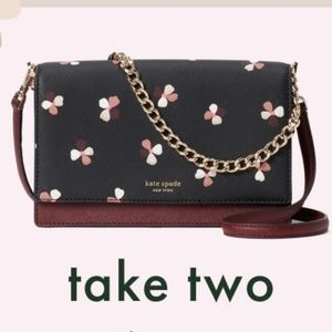 Kate Spade Convertible Crossbody & Card Holder Set